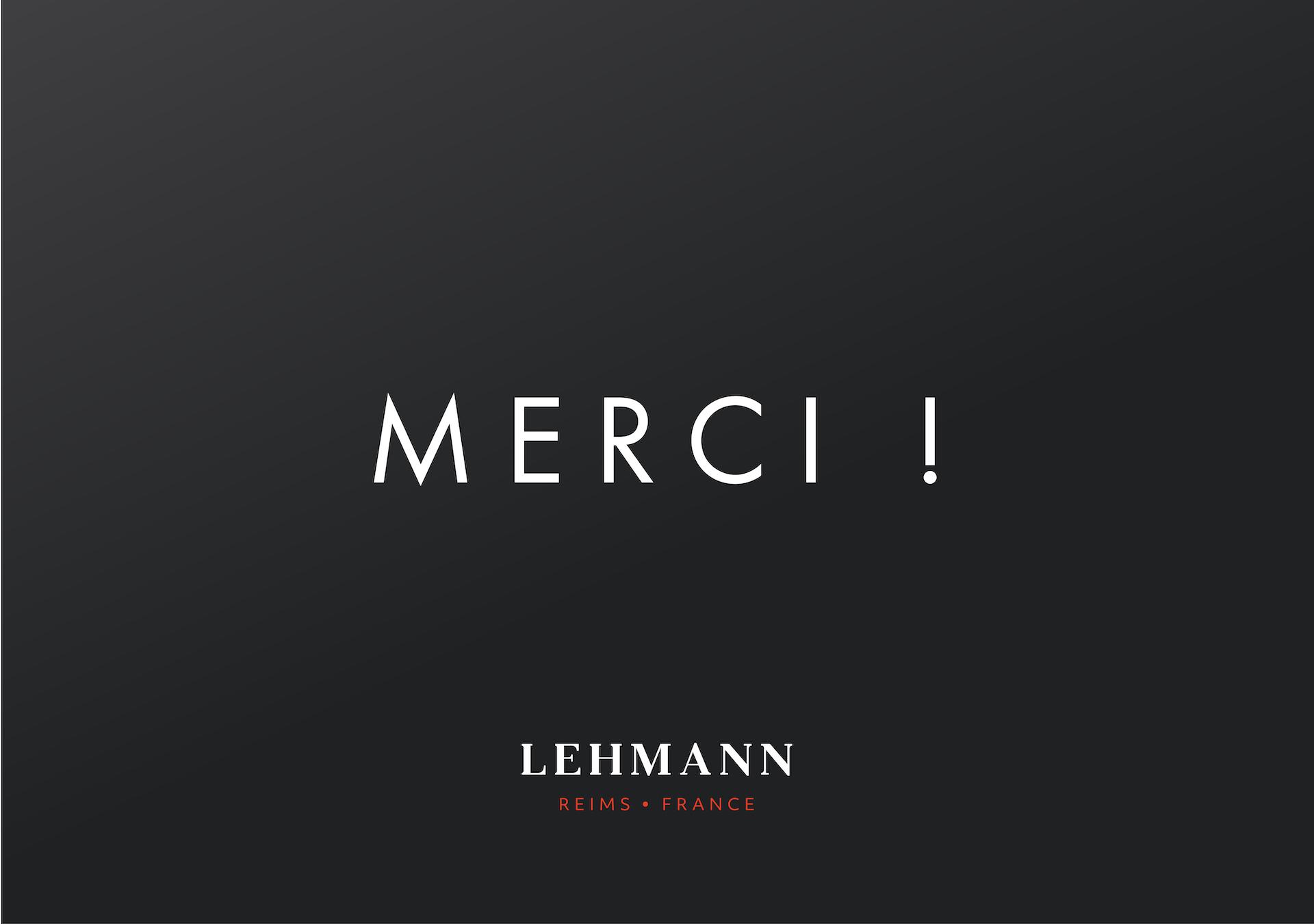 E-carte cadeau, Lehmann Reims • France
